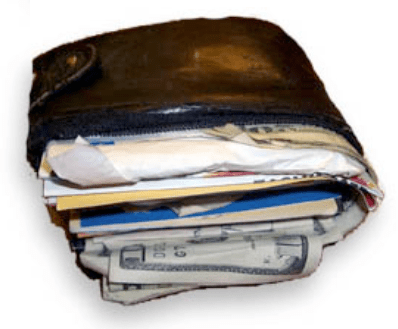 You need to put contact information in your Wallet