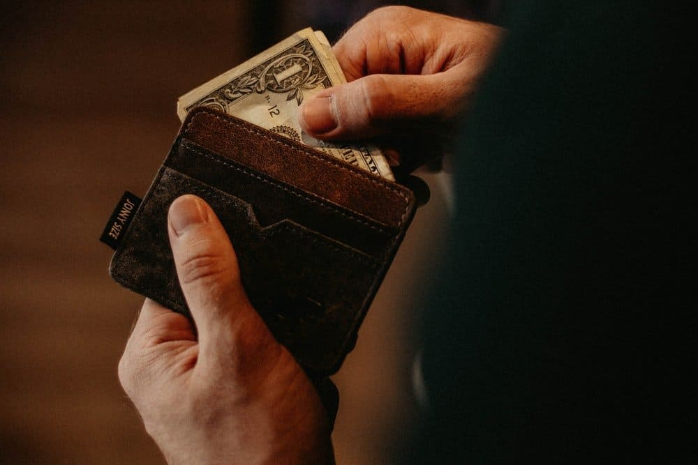 put contact information in your wallet