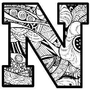 The letter N in artwork, depicting Medigap Plan N