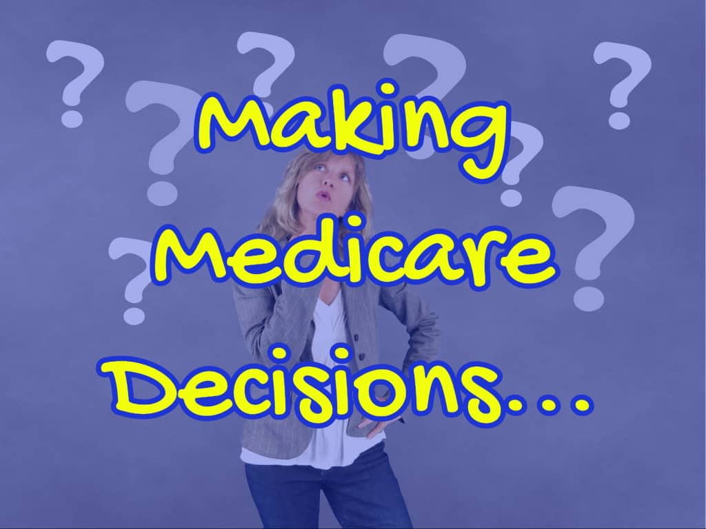 Image of Cover of Making Medicare Decisions Class to depict Understand your Medicare Options when Turning 65