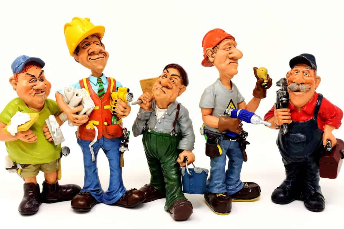 dolls depicting workers who don't have to sign up for Medicare Prescription Drug Plans