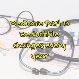 Medicare Part D deductible