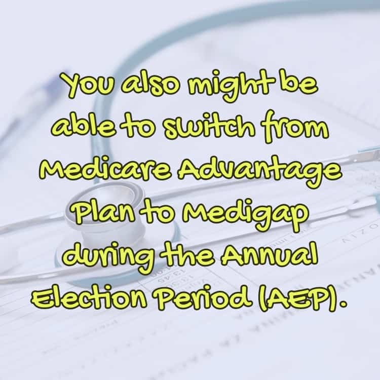 Medicare Annual Election Period