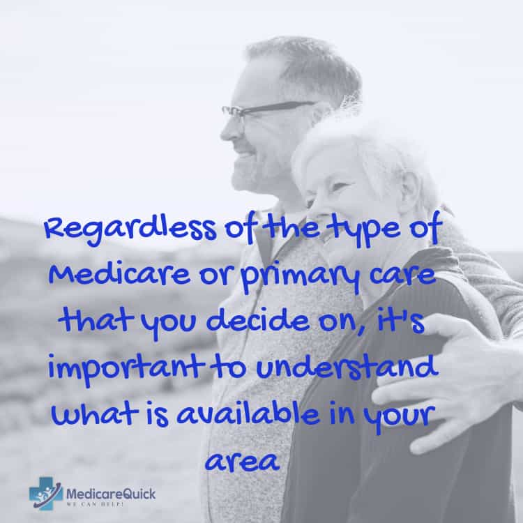 Medicare or Primary care