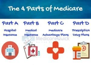 Parts of Medicare